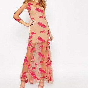 For Love and Lemons Orchid Maxi Dress